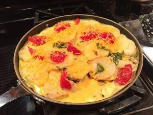 wic recipe veggie frittata