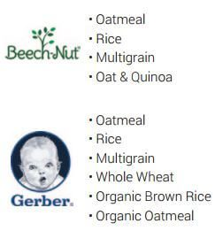 wic infant cereal