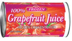 Frozen Grapefruit Juice
