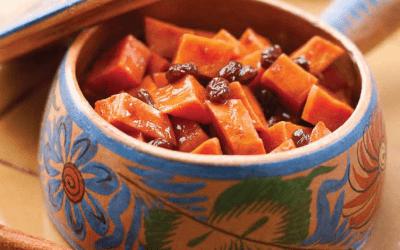 Cinnamon-Orange Glazed Sweet Potatoes
